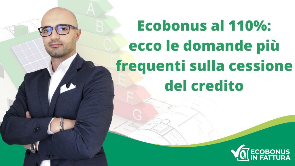 Cessione del credito Ecobonus (ristrutturazioni Potenza e Val d'Agri)