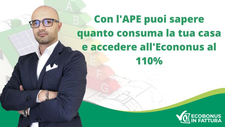 Attestato di Prestazione Energetica Basilicata Ecobonus 110%