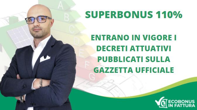 Decreti attuativi Superbonus 110%: le novità per riqualificare la tua casa in Basilicata con il Super Ecobonus