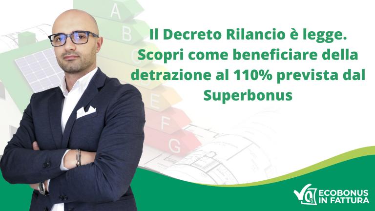 Decreto Rilancio convertito in legge: Superbonus per ristrutturazioni a Potenza e in Val d'Agri