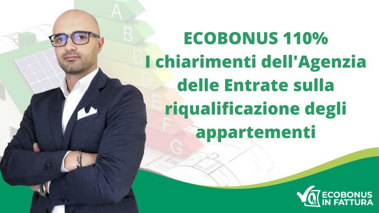 Superbonus 110% condominio: come riqualificare il tuo appartamento a Potenza e in Val d'Agri