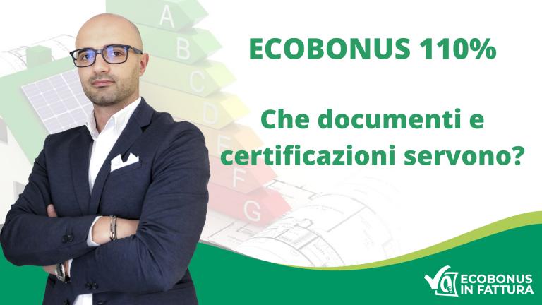Documenti Ecobonus 110% per riqualificare la tua casa a Potenza e in Val d'Agri