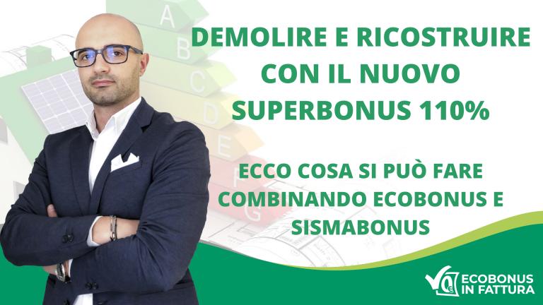 Demolizione e ricostruzione Superbonus 110% Basilicata