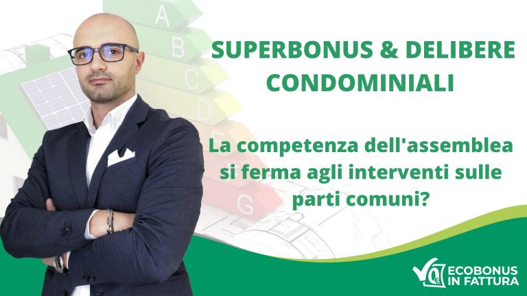 Maggioranza condominiale Superbonus 110%