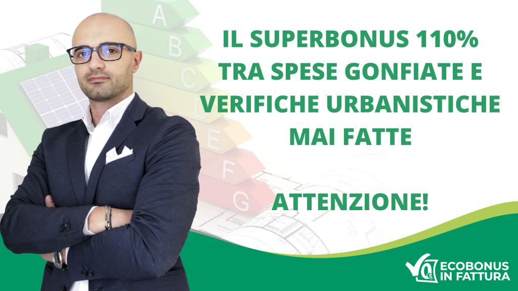 Ristrutturazioni Superbonus 110% Basilicata e il problema delle spese gonfiate