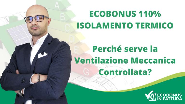 Ecobonus 110% Basilicata e vantaggi della Ventilazione Meccanica Controllata
